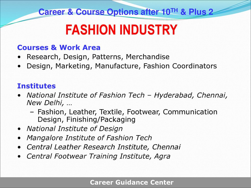 Career Course Options After Class X Class Xii Ppt Download