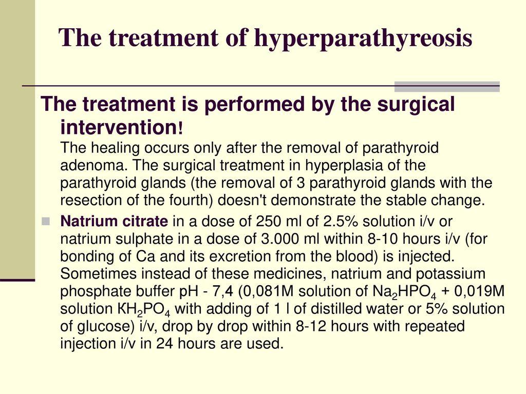 hyperparathyreosis hypertonia c-vitamin és magas vérnyomás