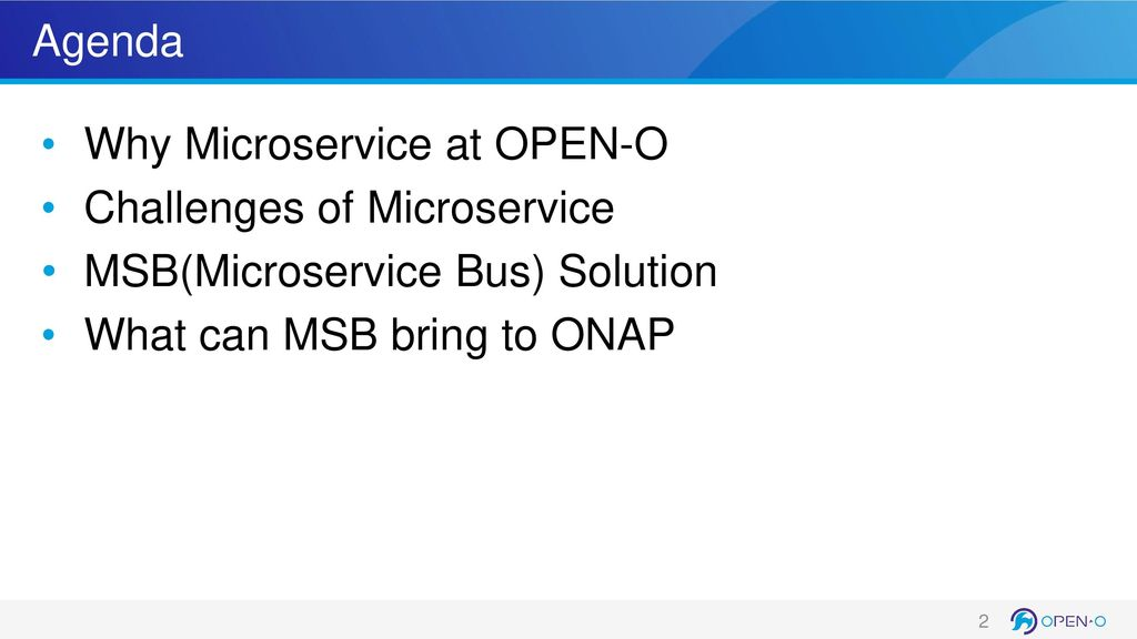 Microservice Powered Orchestration - ppt download