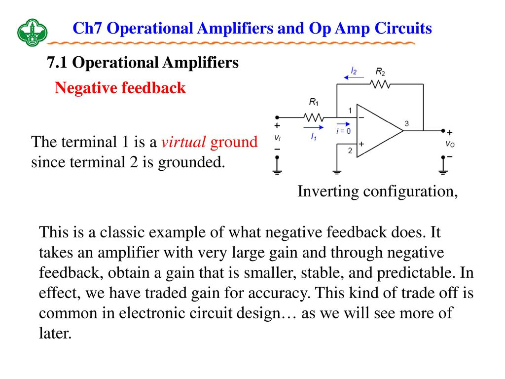 Ch7 Operational Amplifiers And Op Amp Circuits Ppt Download Gain Control Preamplifier Circuit Diagram Electronic
