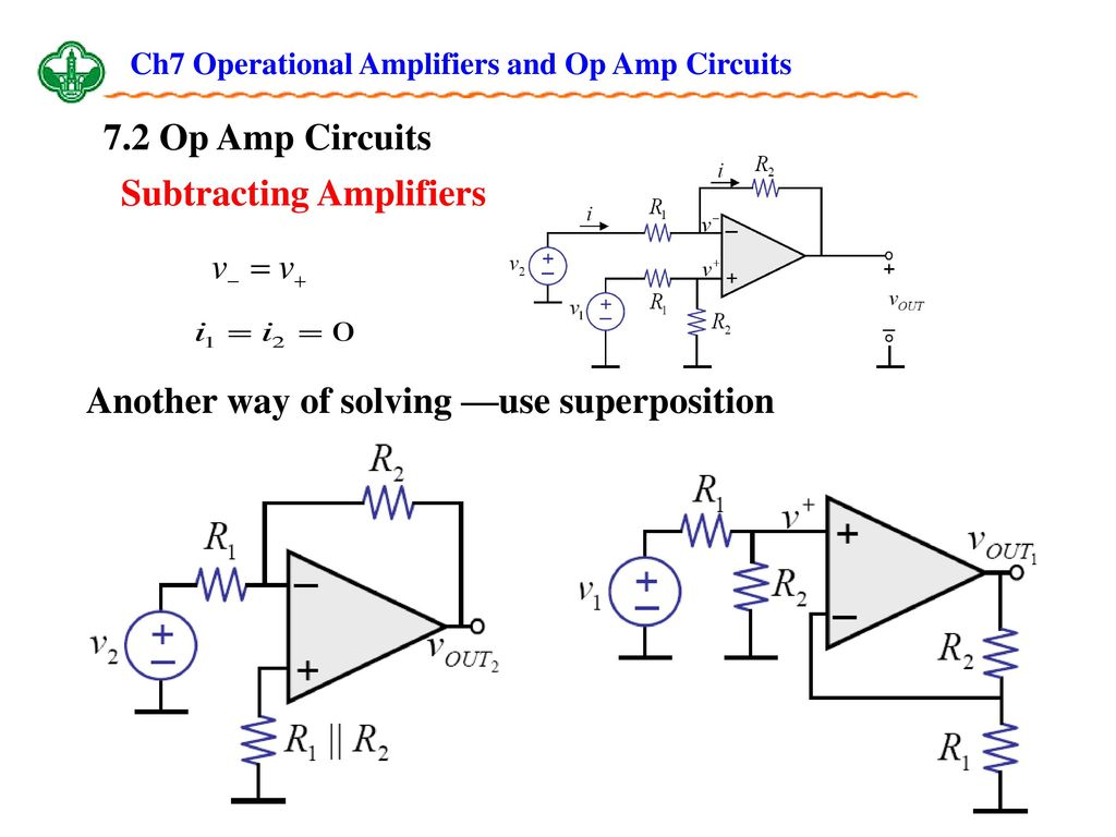 Ch7 Operational Amplifiers And Op Amp Circuits Ppt Download Solving Circuit