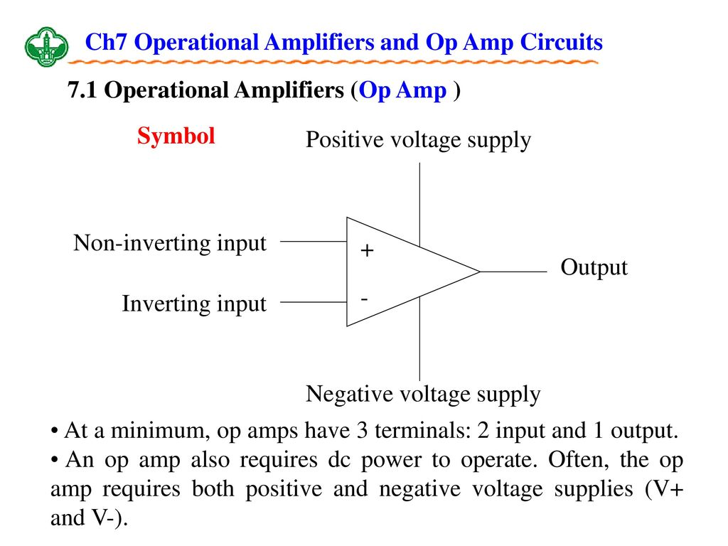Ch7 Operational Amplifiers And Op Amp Circuits Ppt Download Is The Buffer In This Power Supply Circuit Required