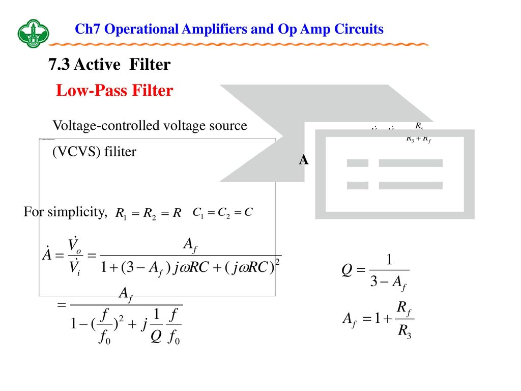 Ch7 Operational Amplifiers And Op Amp Circuits Ppt Download Voltagecontrolled Oscillator Circuit Signalprocessing