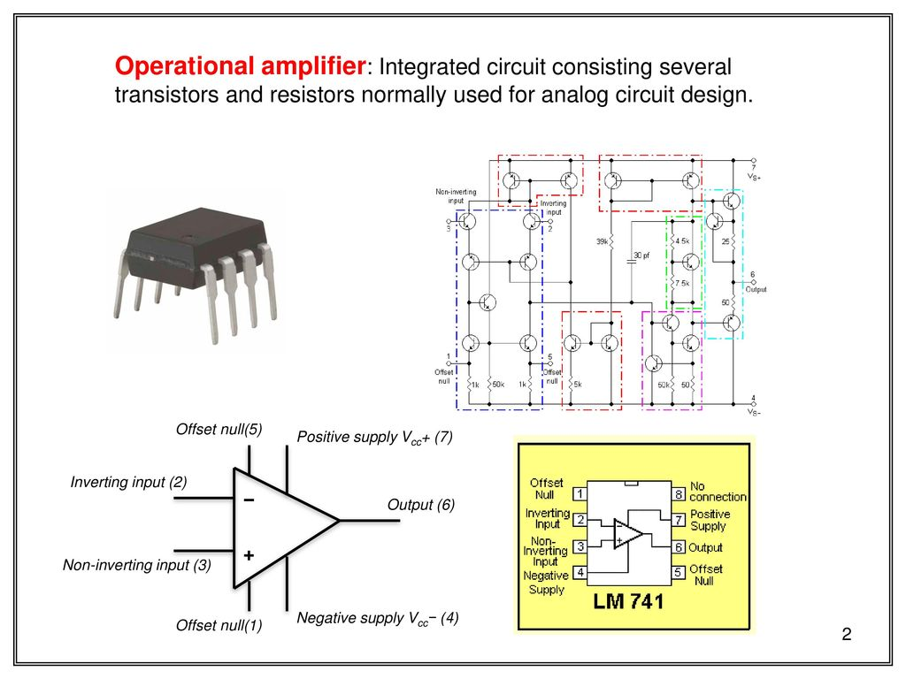 Techniques Of Dc Circuit Analysis Skee Ppt Download Noninverting Amplifier Analog Integrated Circuits Electronics Operational Consisting Several Transistors And Resistors Normally Used For Design