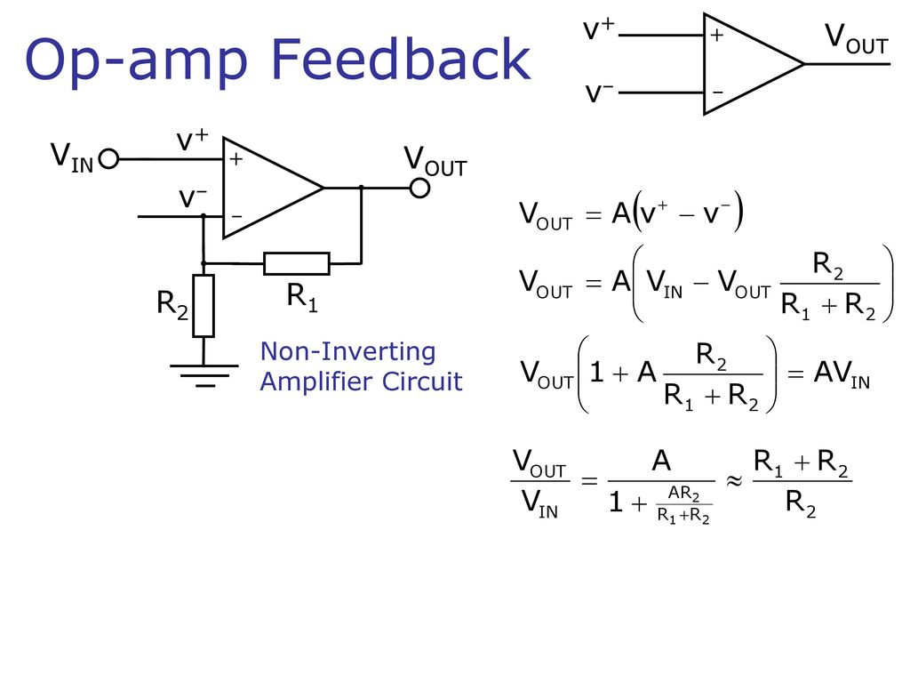 The Ideal Op Amp Operational Amplifier V Vout 15v Vin About An Opamp And Inverting Circuit 2