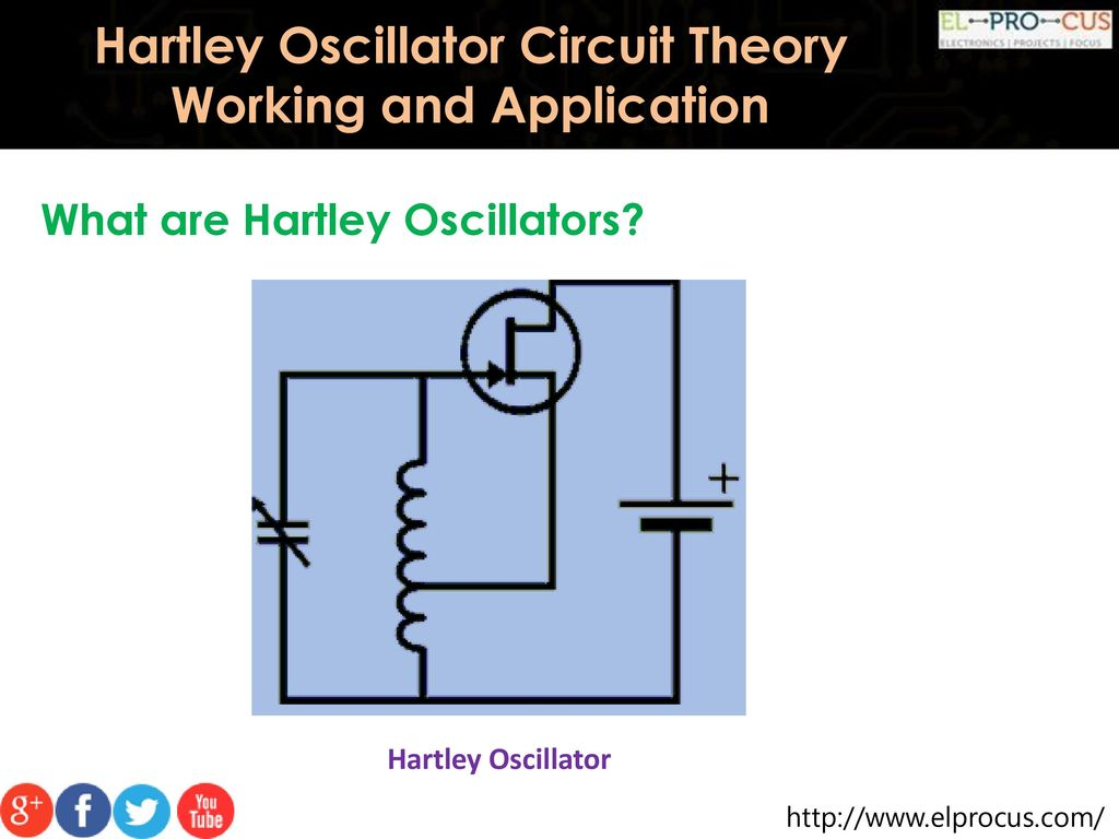 Hartley Oscillator Circuit Theory Working And Application Ppt Download Diagram