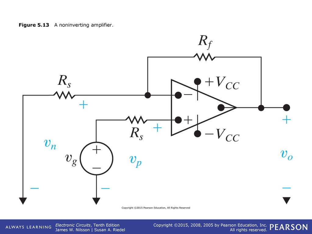 Figure 51 The Eight Lead Dip Package Top View Ppt Video Online Non Inverting Amplifier Circuit Diagram 13 513 A Noninverting