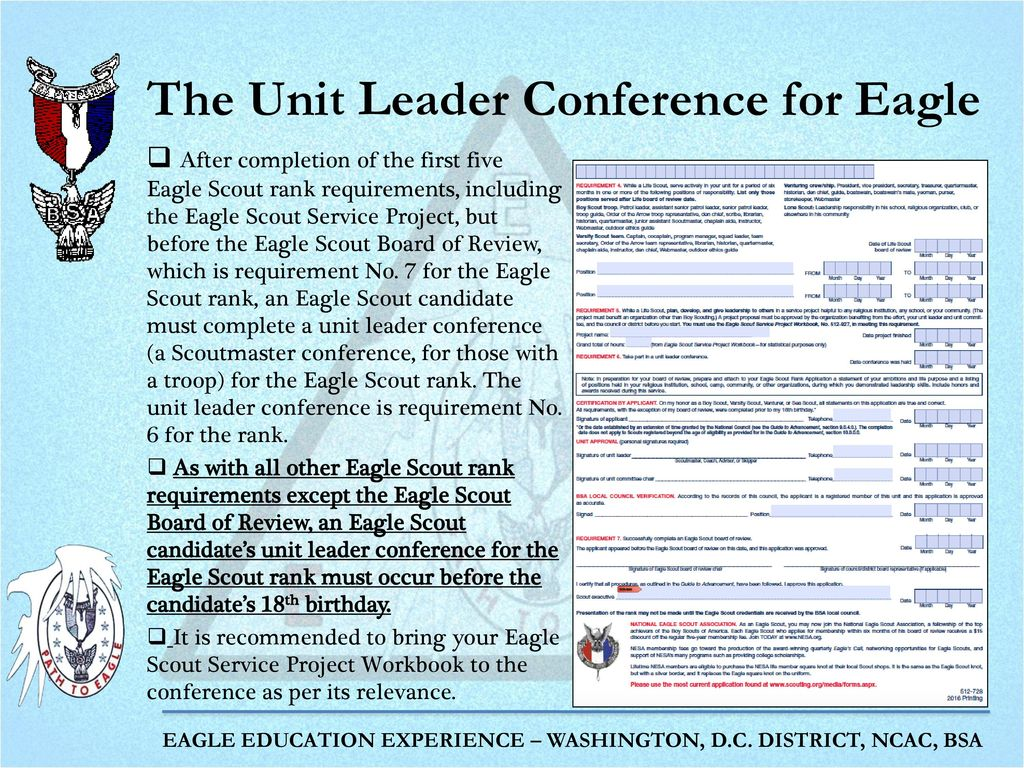Workbooks eagle scout workbook download : Completing the Eagle Scout Rank Application - ppt download
