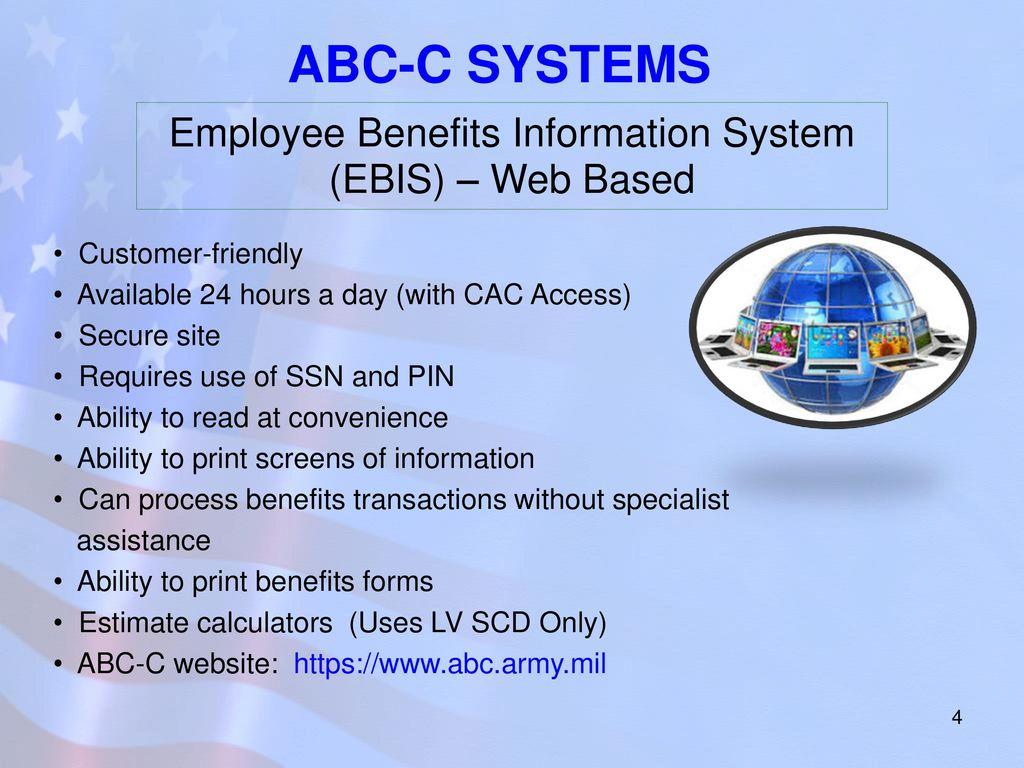 Employee Benefits Information System EBIS Web Based