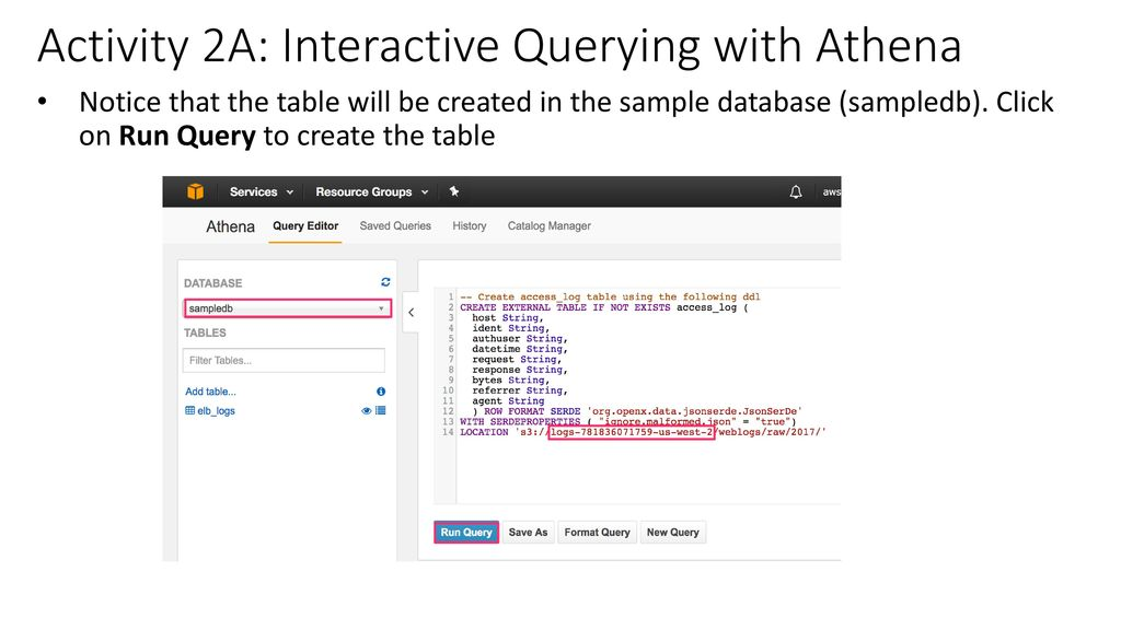 Querying and analyzing data in Amazon S3 - ppt video online download