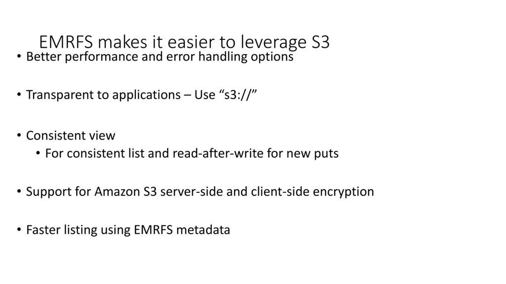 Querying and analyzing data in Amazon S3 - ppt video online