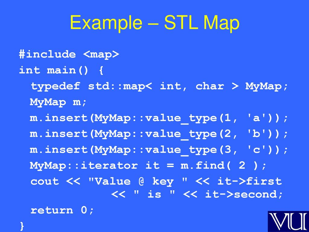 Cse 332: c++ stl containers intro to the c++ standard template.