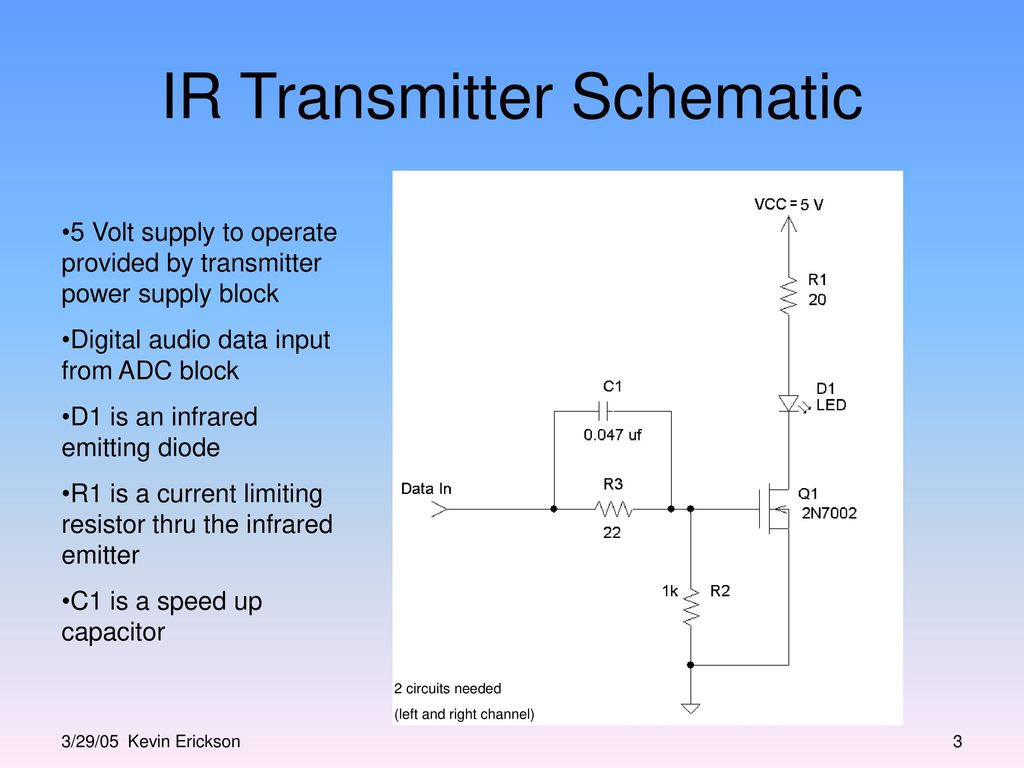 Infrared Transmitter And Receiver Block Design Ppt Video Online Based Circuits Ir Schematic
