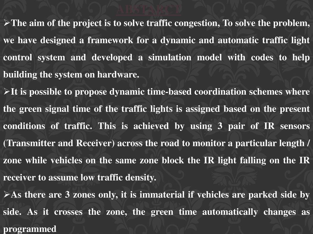 Parking Availability Indication System - ppt download
