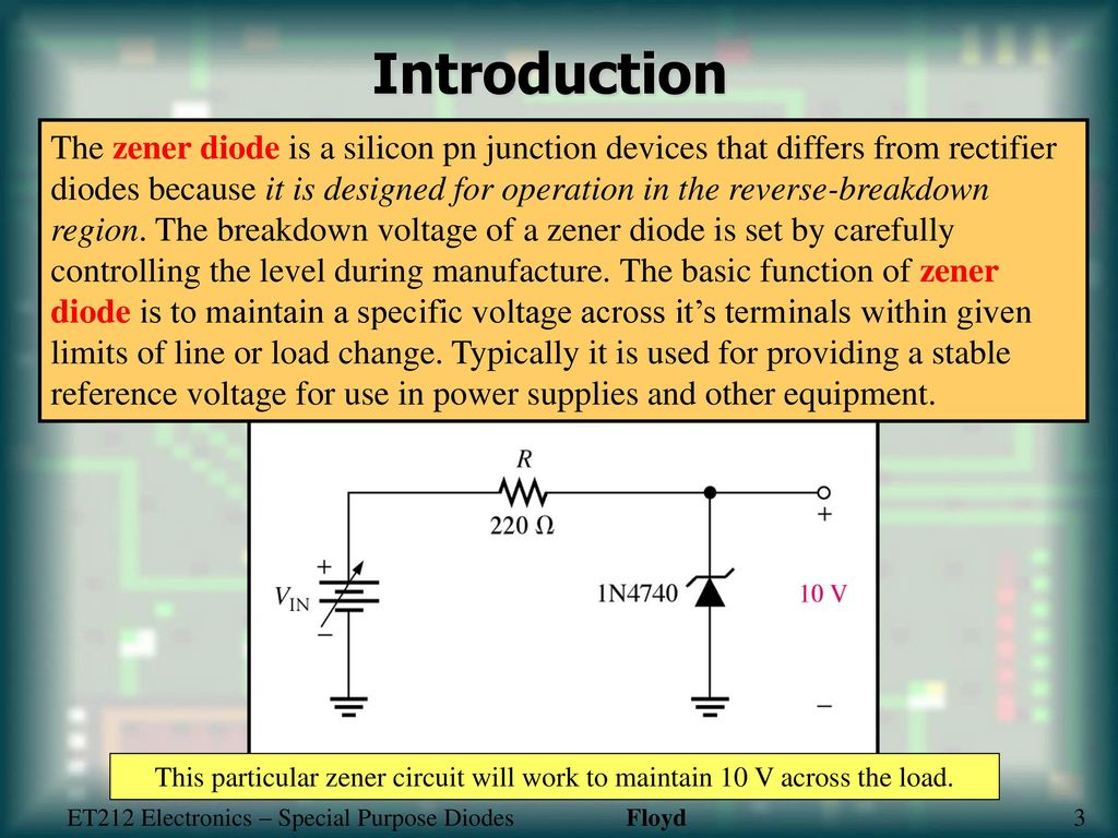 Special Purpose Diodes Ppt Download Circuit In Addition Led Light Emitting Diode Further Rectifier 4 Introduction