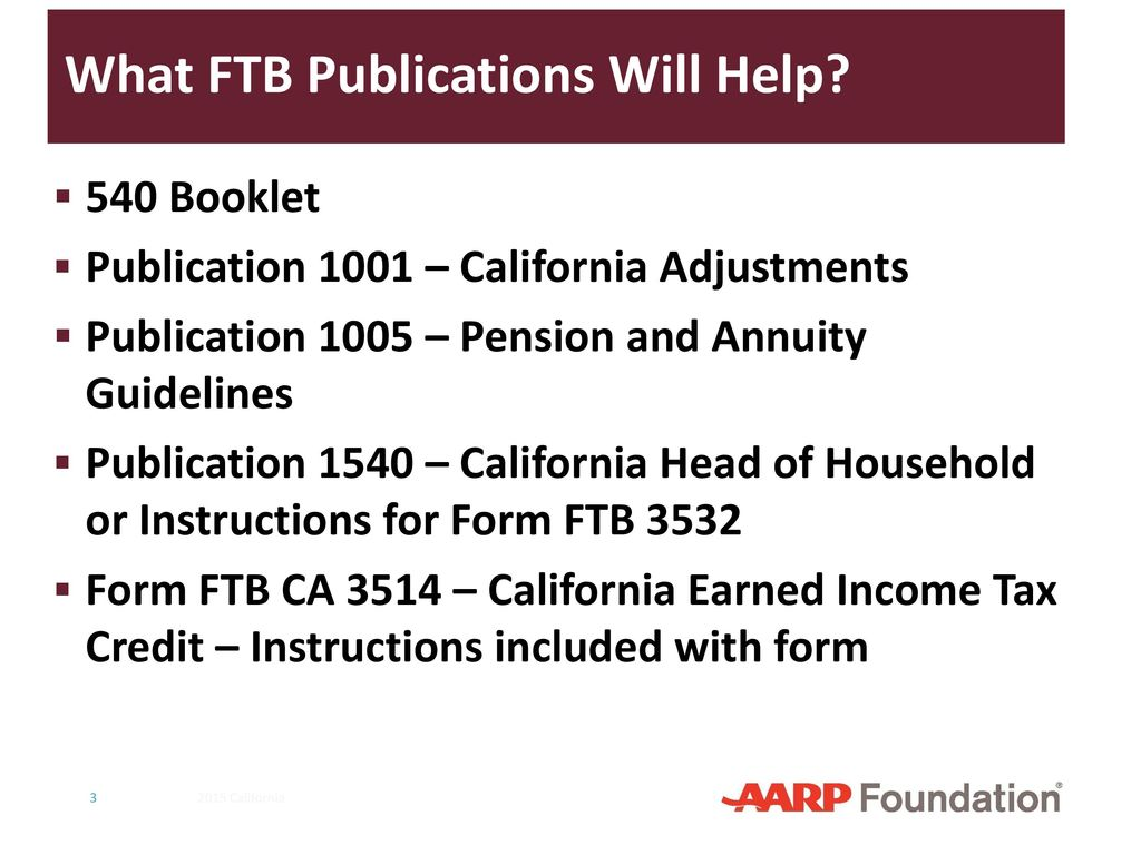 California Supplement to 2016 NTTC Training Slides - ppt