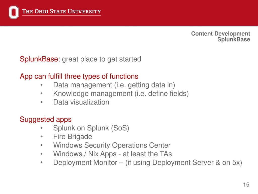 Splunk quick start Mark Runals Sr Security Engineer  - ppt