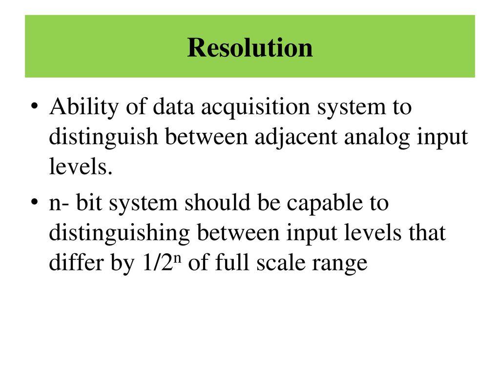 Digital To Analog Converter Dac Ppt Video Online Download Cmos Integrated Analogtodigital And Digitaltoanalog Converters 3 Resolution