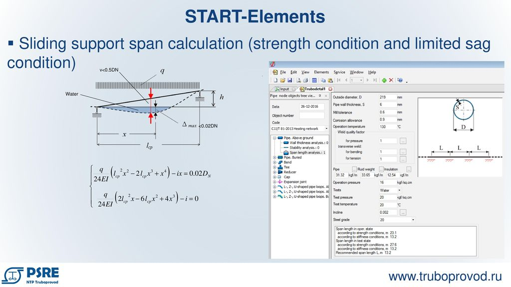 Pipe Support Span Calculation Excel