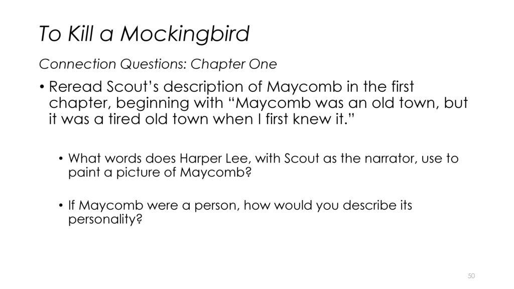 description of maycomb