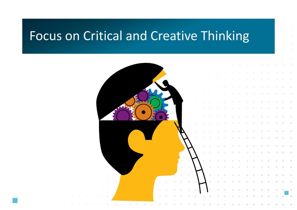 essay on creative and critical thinking Creative thinking vs critical thinking creative thinking and critical thinking are two expressions that show the difference between them when it comes if you will ever need to write a creative essay, you may learn how to title an essay when you are thinking creatively, you are focused on exploring.