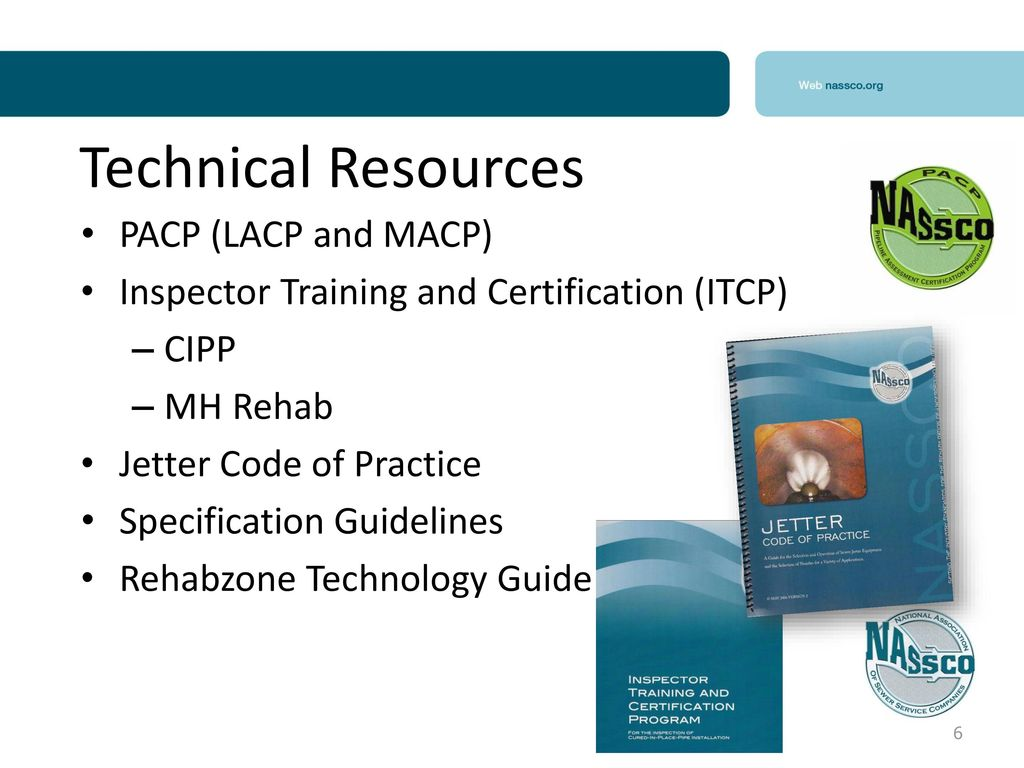 Pipeline Assessment Certification Program Pacp Ppt Download