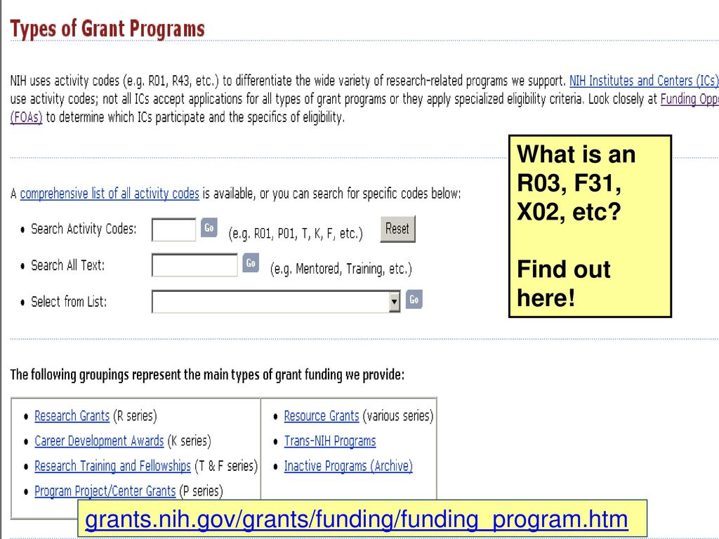 The Nuts and Bolts of NIH Funding - ppt download