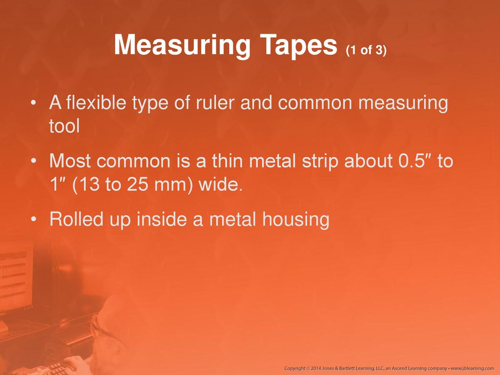 Ch 6 4 Measuring Tools Ppt Download