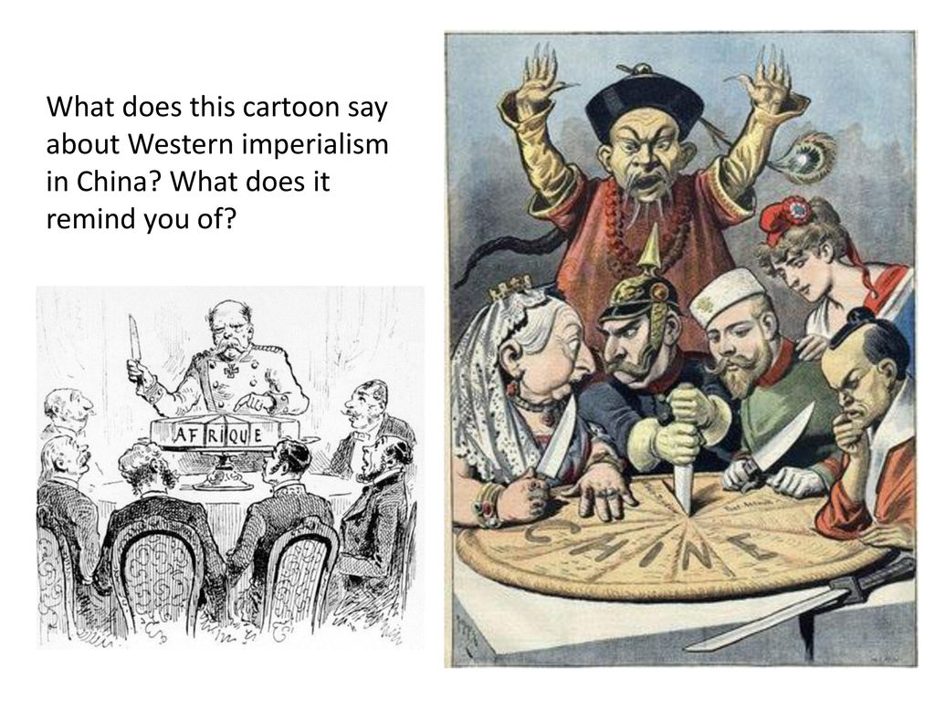 western imperialism in china
