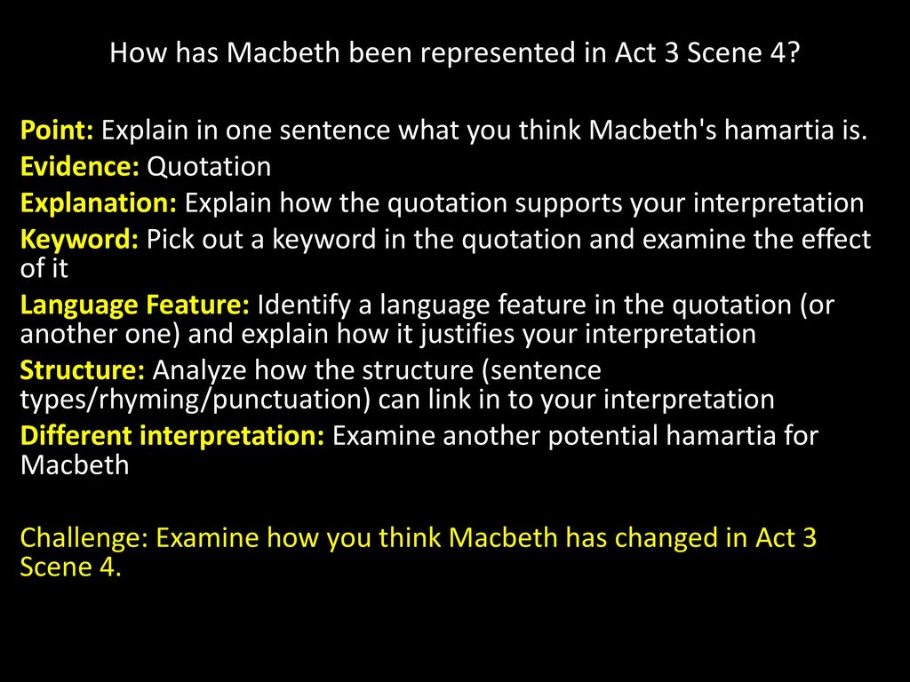 Macbeth Act 1 Starter Read Through The Handout You Have Been Given Make At Least 6 Bullet Point Listing What Learn About Context Ppt Download 3 Scene Explanation