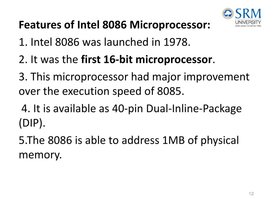 Introduction –Microprocessors and Microcontrollers-its