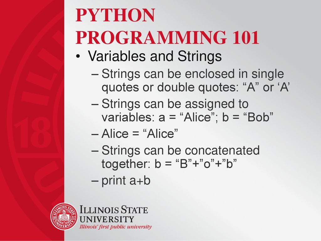 Introduction To Python Programming Ppt Video Online Download