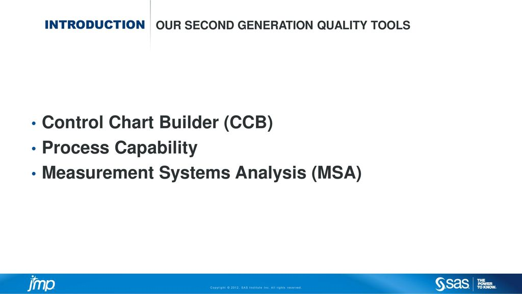 control chart builder ccb process capability ppt download