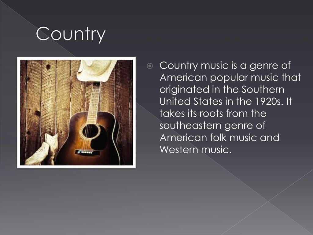 THE DIFERENT TYPES OF MUSIC - ppt download