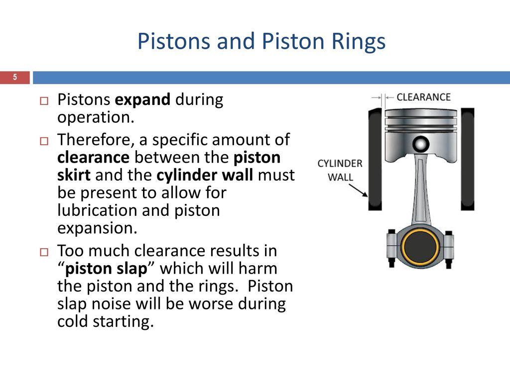 Pistons and piston rings - ppt video online download