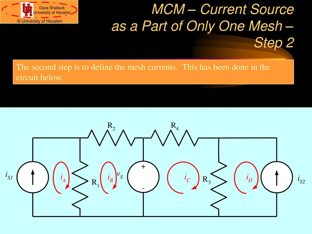 The Mesh-Current Method - ppt download