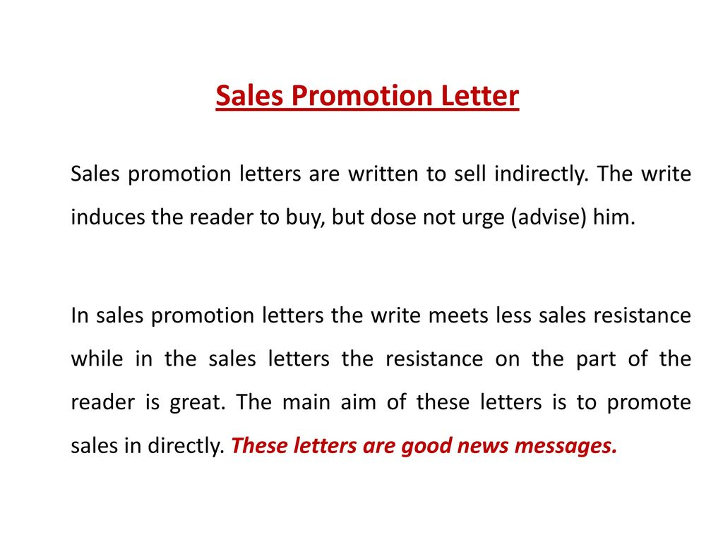 Business communication i ppt download sales promotion letter expocarfo Gallery