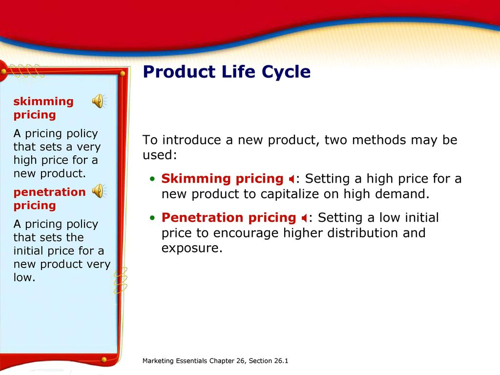 Methods of pricing in marketing