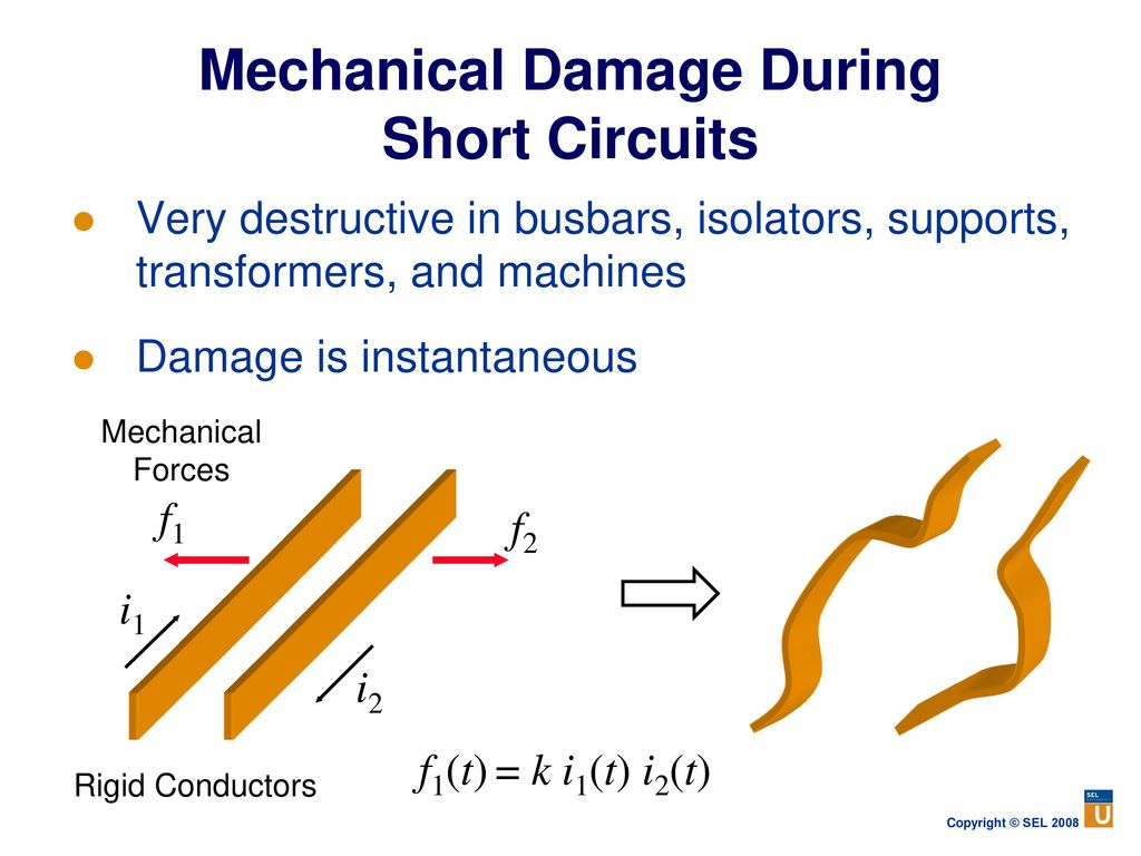 Power System Protection Fundamentals Ppt Download Generator Short Circuit Current Contribution Is Considered Remote Mechanical Damage During Circuits