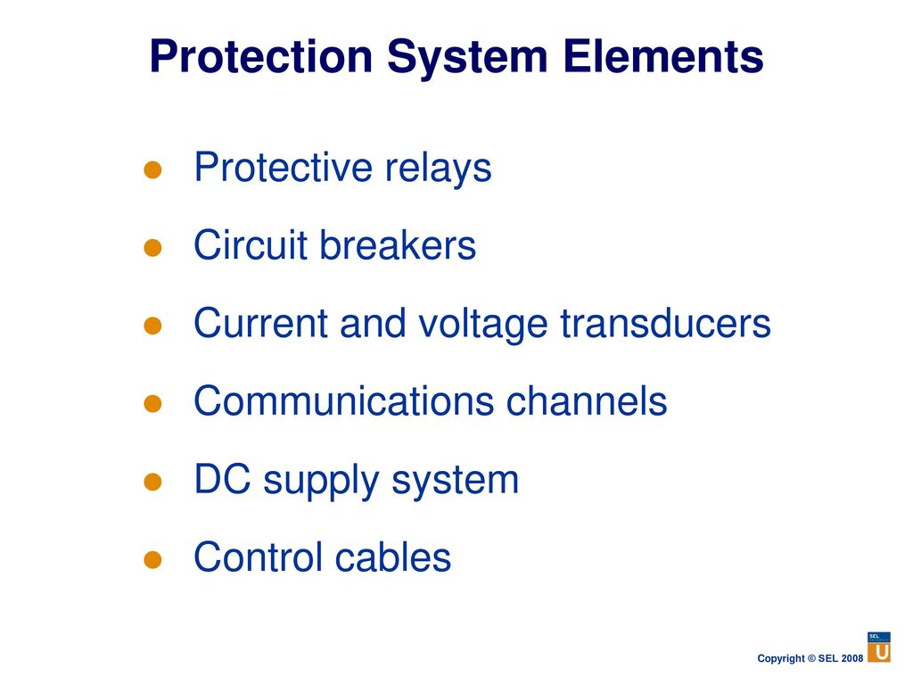 Power System Protection Fundamentals Ppt Download Disconnecting Circuit Breaker Dcb With Fibre Optic Current Sensor 13 Elements Protective Relays Breakers