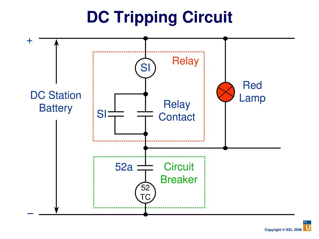Power System Protection Fundamentals Ppt Download Circuit Breaker With Relay Dc Tripping Lecture 1