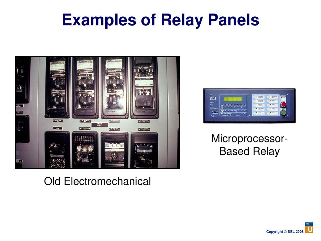 Power System Protection Fundamentals Ppt Download Dc Current Balance Relay Examples Of Panels