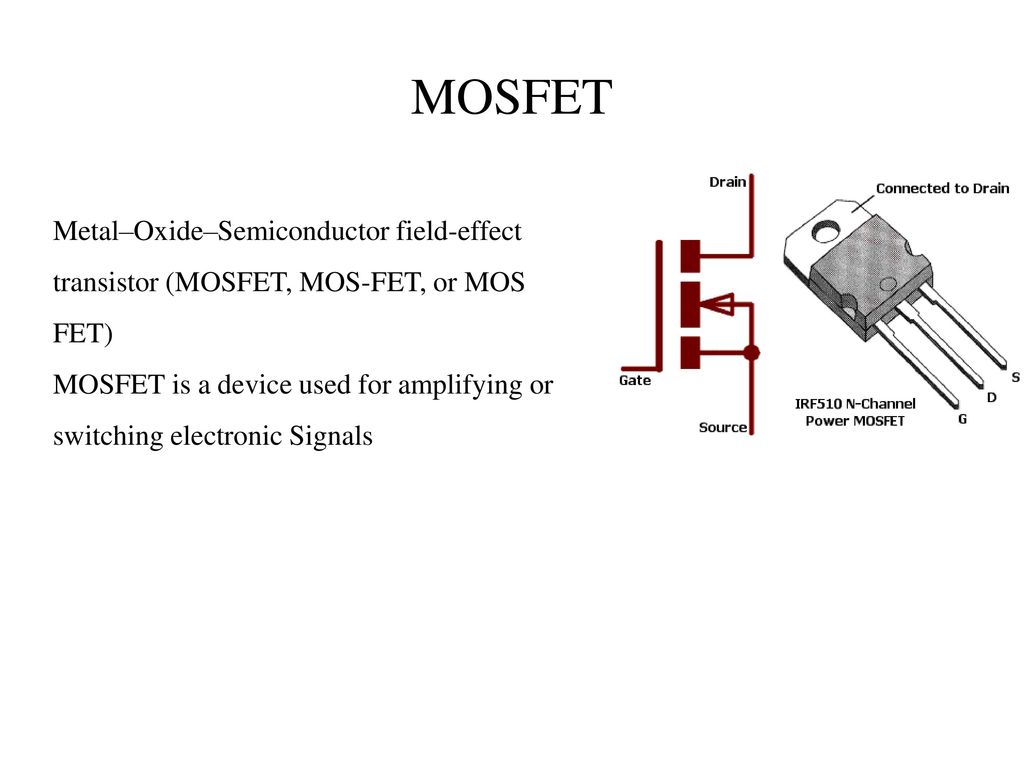 Ultra Fast Acting Electronic Circuit Breaker Ppt Download Fet Overload Current Trip 11 Mosfet