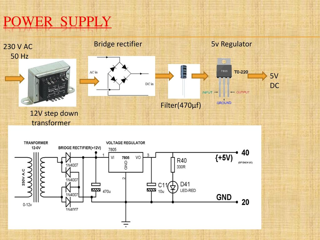Project Title Password Based Circuit Breaker Control To Ensure 50 Watt Led Street Light Driver Electronic Projects Power Supply Bridge Rectifier 5v Regulator 230 V Ac Hz Dc