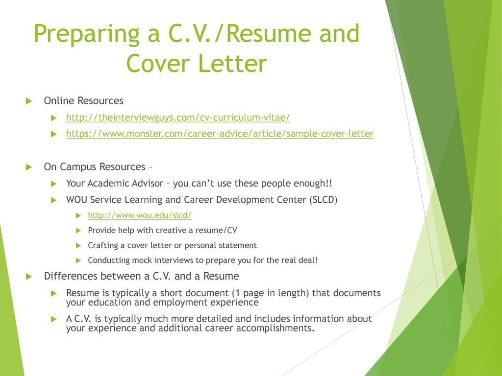 Finding Internships in Science and Technology - ppt download