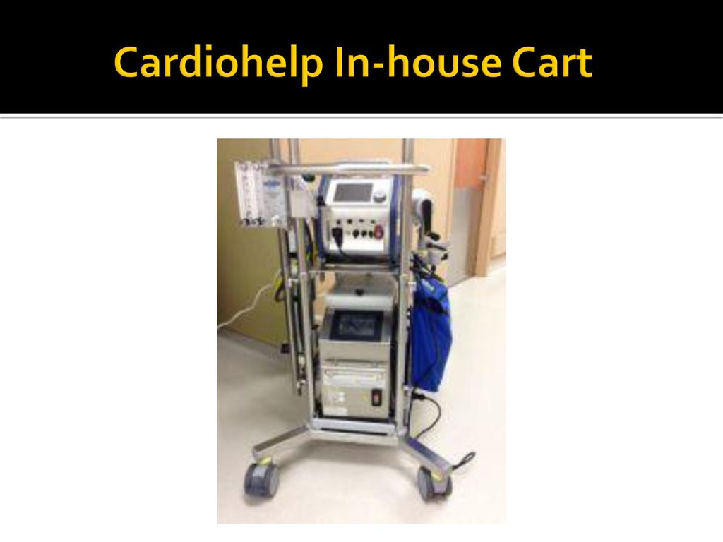 Adult Ecmo Baylor University Medical Center At Dallas Ppt Download House Wiring Radial Circuit 44 Cardiohelp In Cart