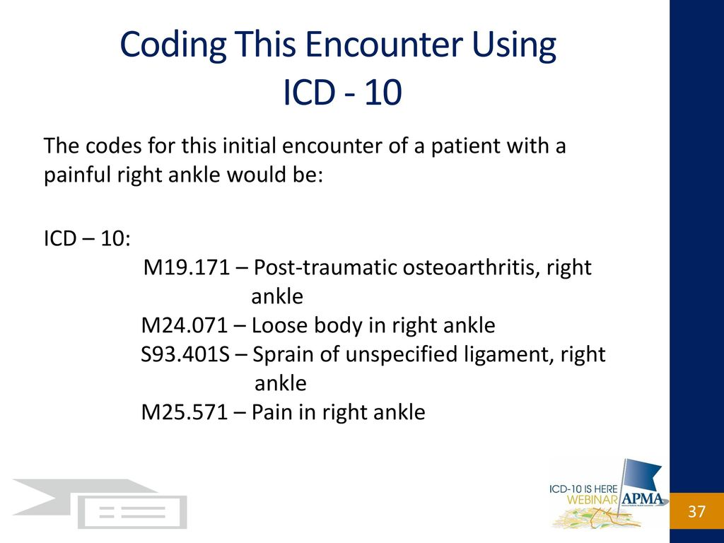 Icd 10 code for knee sprain