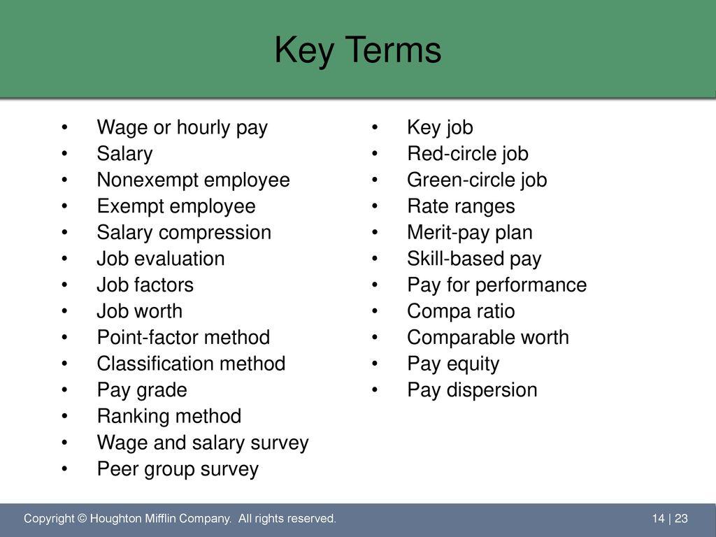 Salary factors 82
