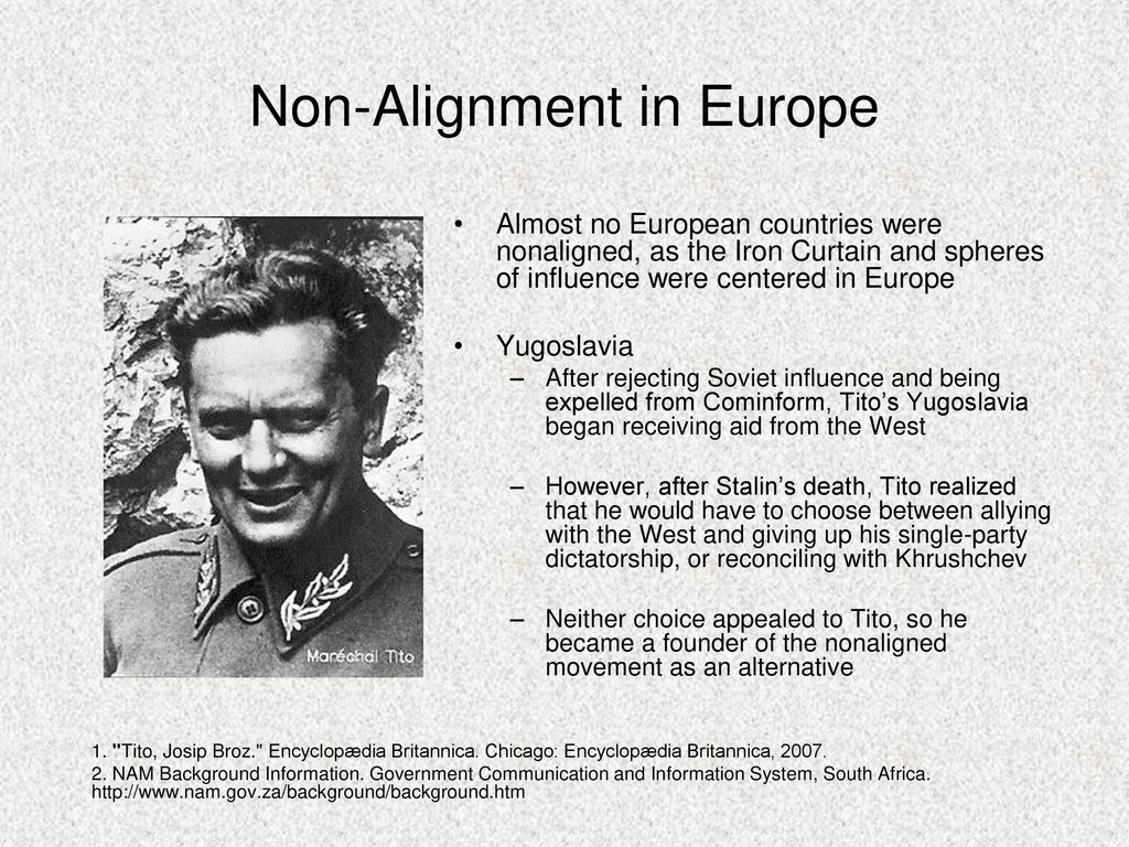The Non-Aligned Movement: A Brief History
