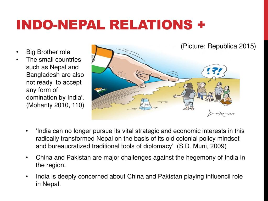 Nepal Between China And India A Yam Between Two Boulders Ppt
